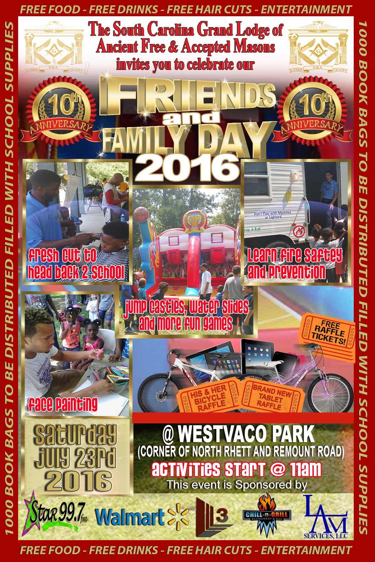 10th Anniversary Friends & Family Day
